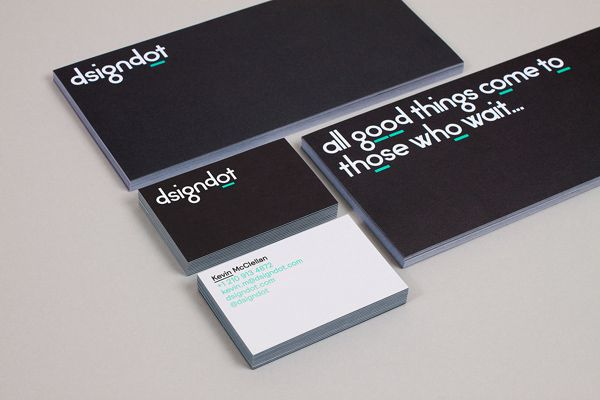 New brand identity for dsigndot by build bpo business cards compliment slip and duplex business card designed by build for on line furniture fashion colourmoves Gallery
