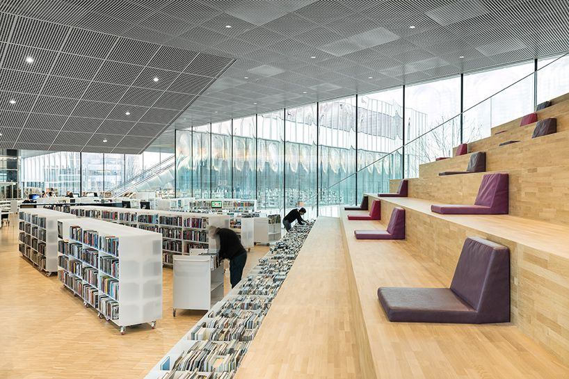 OMA + Barcode Architects Complete Library In Caen, France