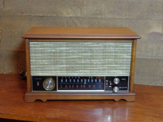 1960s Vintage Zenith Tube Radio Bluetooth Speaker