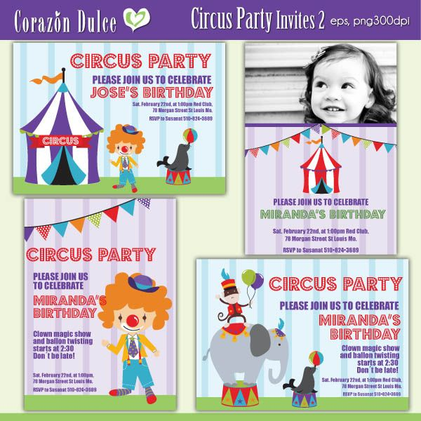 These Fun Invitation Templates Are Perfect For Kids Parties