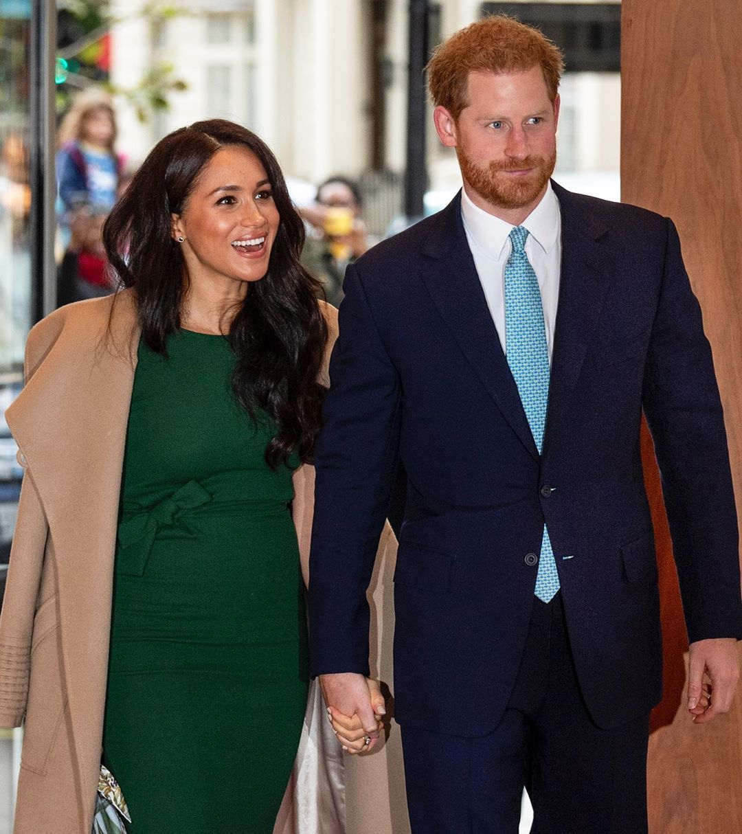 O The Oprah Magazine On Instagram Prince Harry And Meghan Markle Have Opened Up About Their Decision To Step Do Prince Harry And Meghan Meghan Markle Markle
