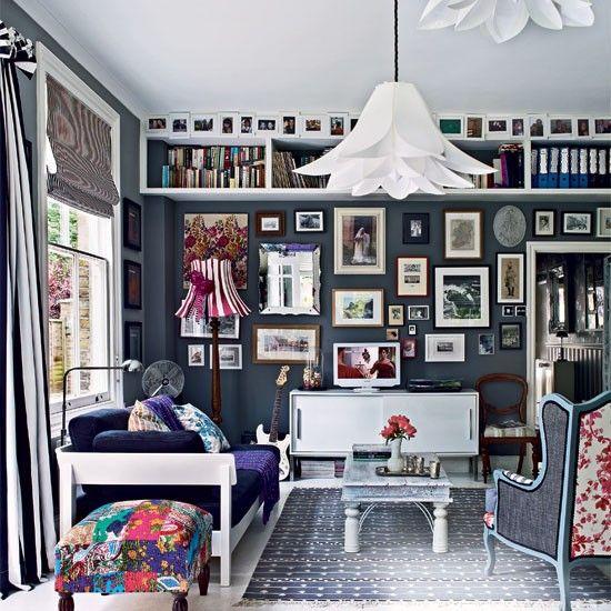 Moderne eklektische Wohnzimmer Wohnideen Living Ideas Interiors - wohnideen wohnzimmer moderne