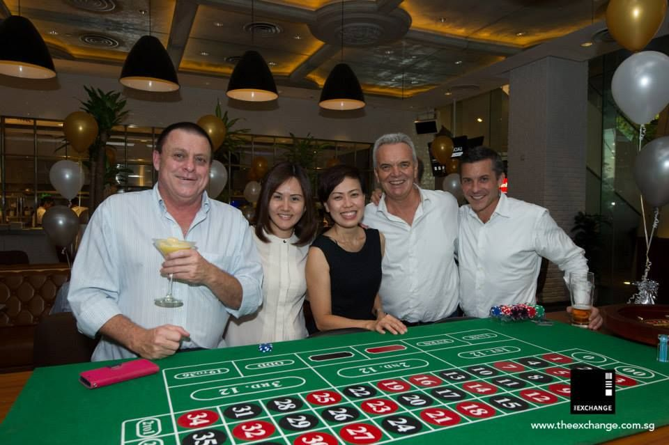 The Exchange 3rd Anniversary...Casino Royale style!