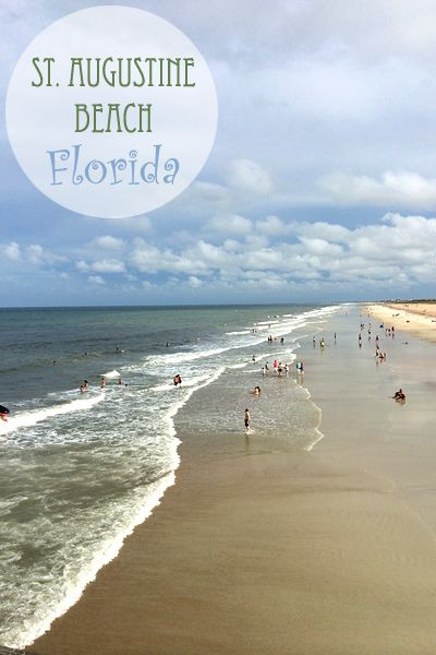 A Vacation With Both Beach And History In St Augustine