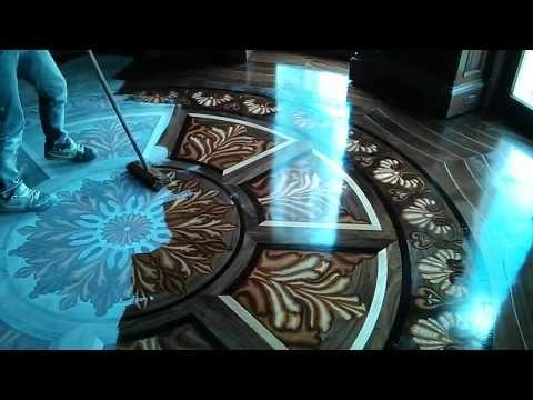 Epoxy Resin 3D Flooring   Adding The Decorative Layer