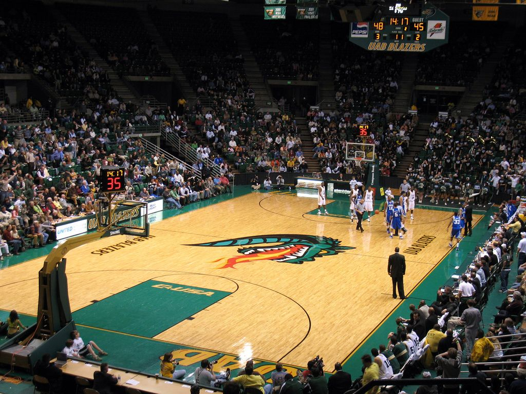 Bartow Arena is home to the University of Alabama At