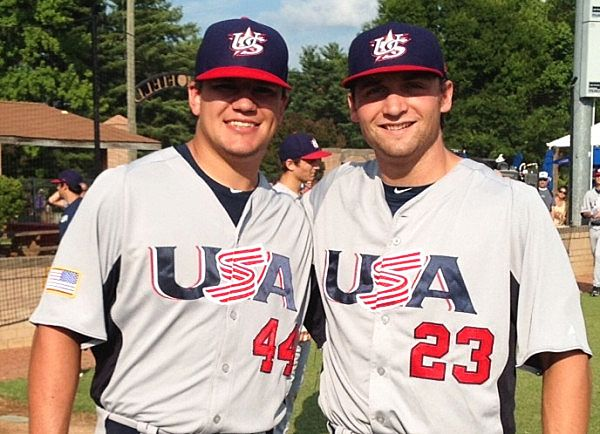 separation shoes d63ef d60e6 Kyle Schwarber and Sam Travis are representing Indiana ...