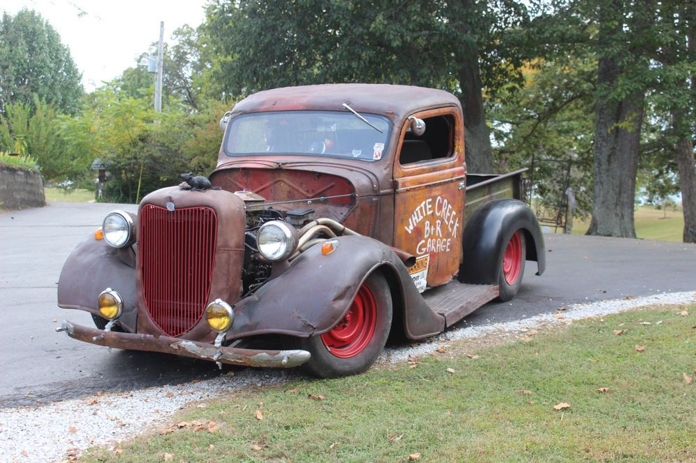 1936 Ford Pickup | Ford, Rat rod