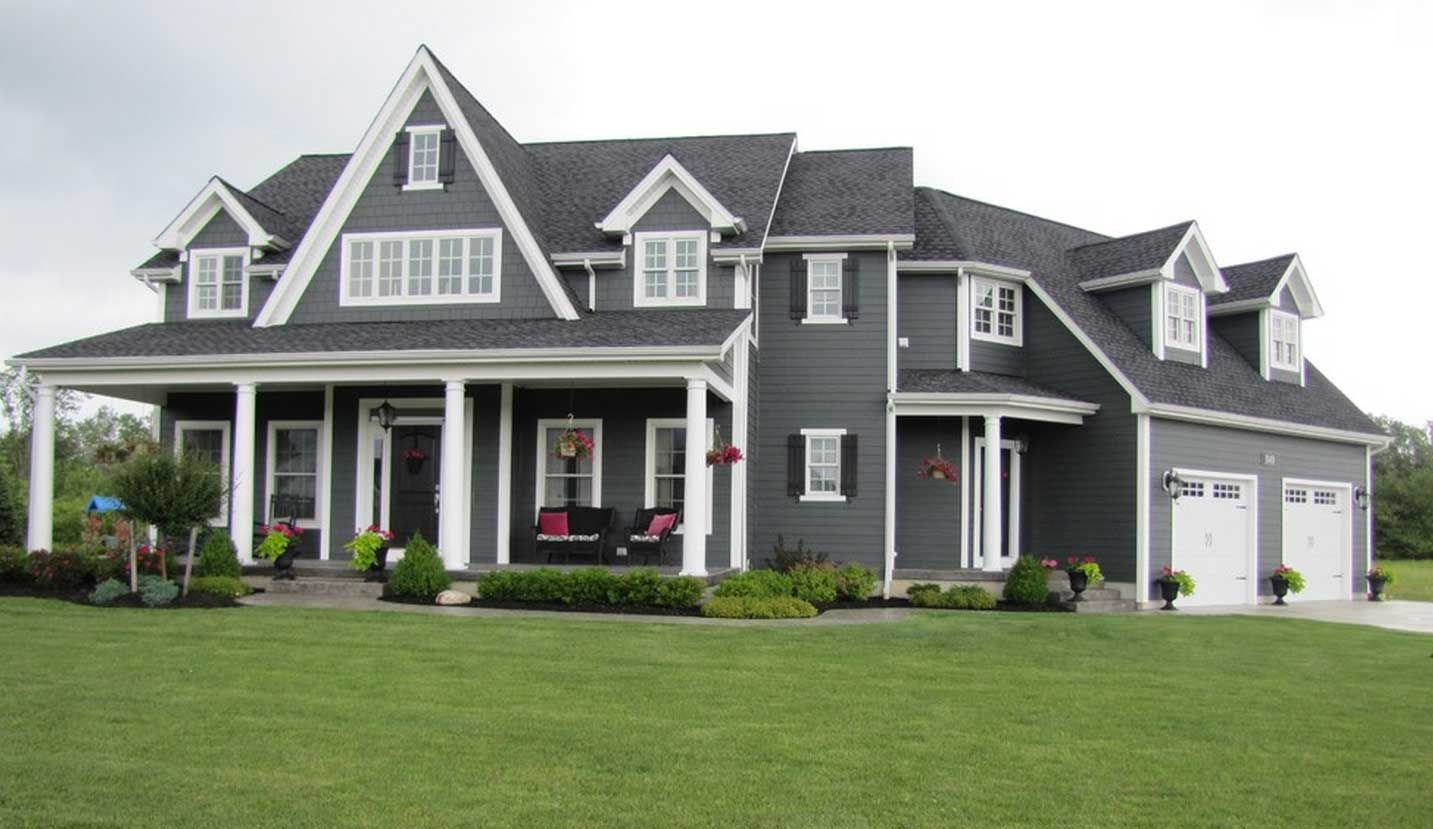 exterior color choice iron gray hardiplank siding