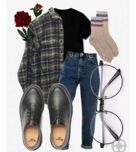 35 Ideas For Fashion Hipster Indie Plaid