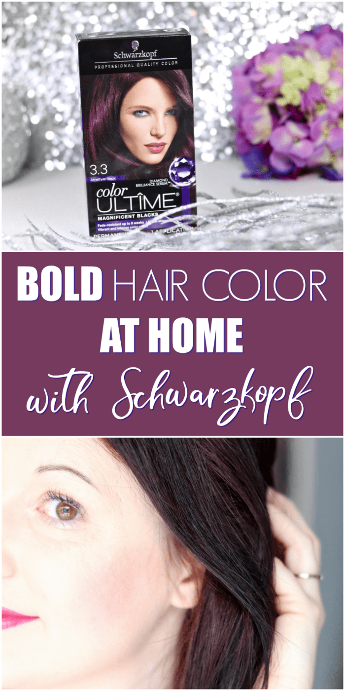 Bold Hair Color At Home With Schwarzkopf Color Ultme At Walmart