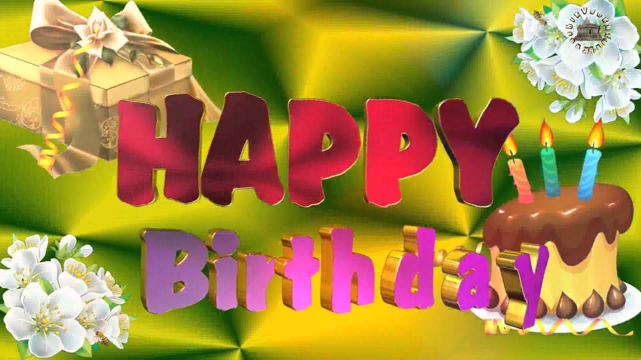 Birthday Wishes Lover Images Quotes Message Animation Whatsapp Video Birthday Wishes For Lover Happy Birthday Video Birthday Wishes