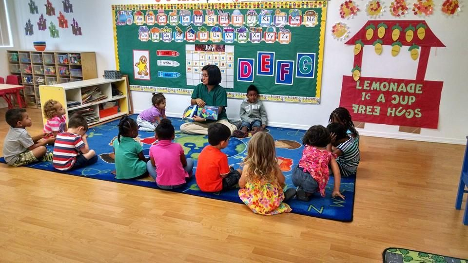 Circle time with miss Rita's class! Childcare center
