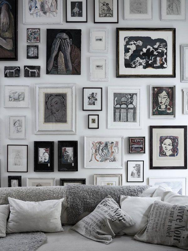 Bilderwand #Bilder #Fotos #Wohnzimmer Room Ideas Pinterest