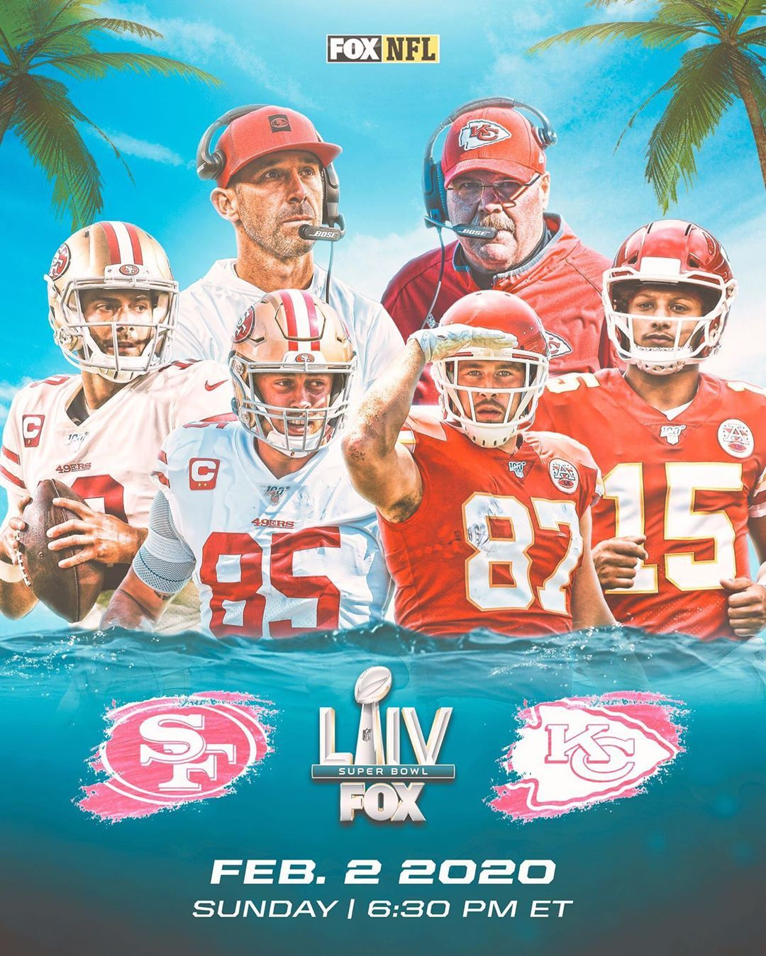 Nfl On Fox On Instagram The Stage Is Set See You In Miami In 2020 Kansas City Chiefs Football Super Bowl Nfl Kansas City Chiefs