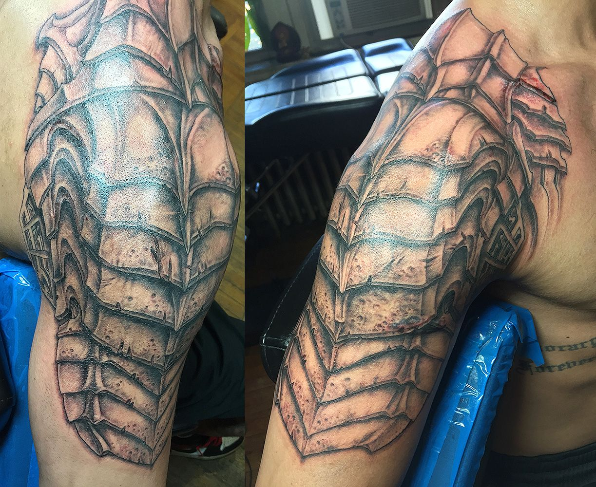 Predator Armor | Dude's Tattoo Portfolio | Armor tattoo
