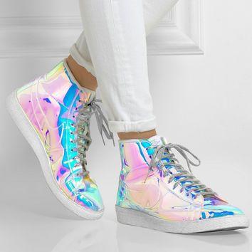 Blazer Nike Mid Texture Irisé Hologramme