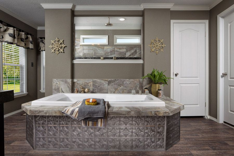 Master Bathroom En Espanol clayton homes in liberty, tx | dream spa baths | pinterest