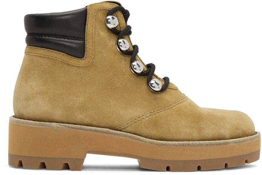 fab8442d 3.1 Phillip Lim - Beige Dylan Hiking Boots | working,tracking shoes ...