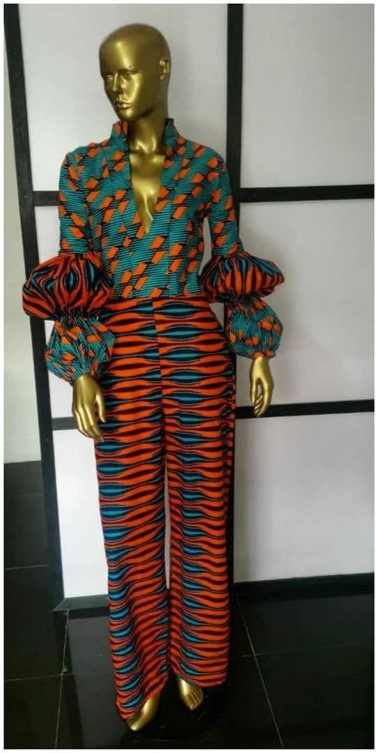 African clothing for women african print jumpsuit jumpsuit | Etsy