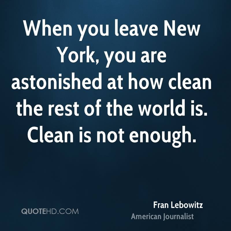 Fran Lebowitz Quotes Quotes, Famous author quotes, Image