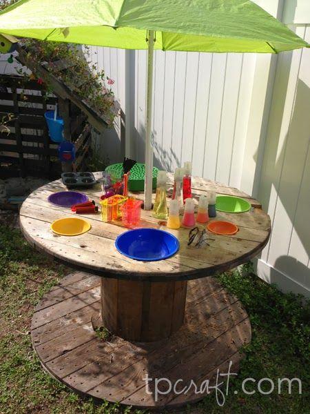 Beschranke Unordnung Im Haus Mit Diesen 12 Hubschen Spieltischen Fur Kinder Backyard For Kids Backyard Diy Projects Backyard Play