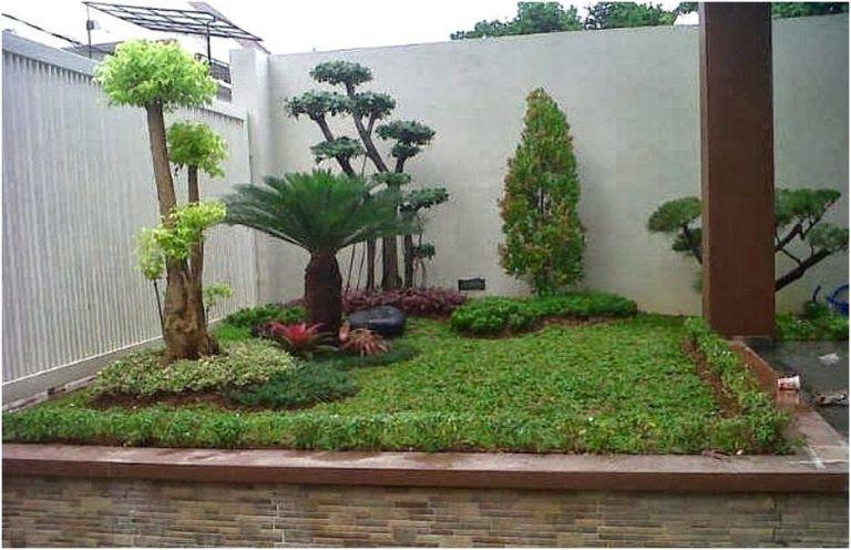 Taman Kecil Depan Rumah Minimalis Sederhana Modern Lahan Sempit