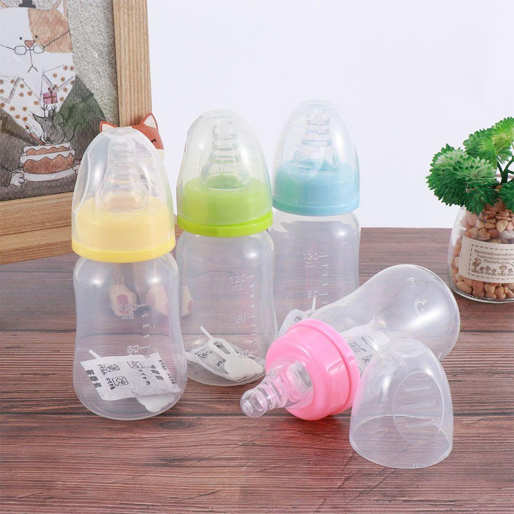 120ml Portable Baby Feeding Bottle Safety Silicone Pacifier Milk Water Bottles Newborn Kids Nursing Care Chil…   Baby feeding bottles, Newborn bottles, Baby feeding