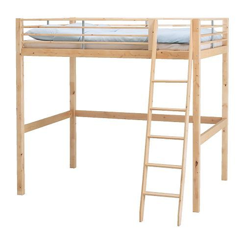 the fjelldal bunk bed from ikea. length: 79.5 inches. distance