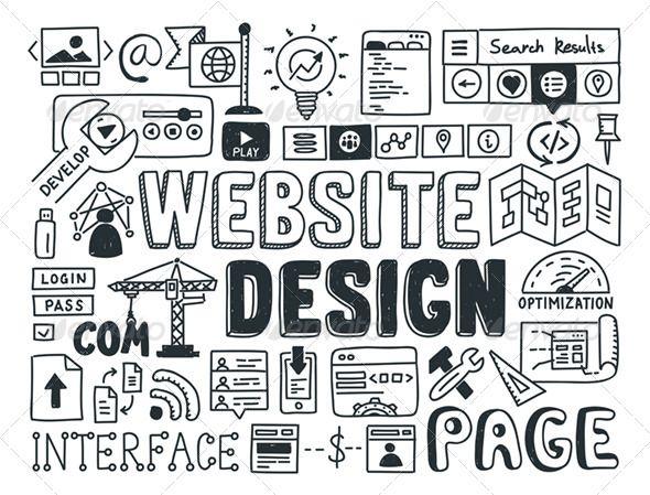 Website Design Doodle Elements Web Design London Website Design Cheap Web Design