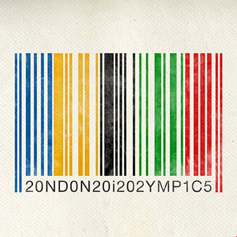 unofficial poster for businesses to sidestep strict marketing rules that prevent them publicising their involvement in the London 2012 Olympics by London designers Rizon