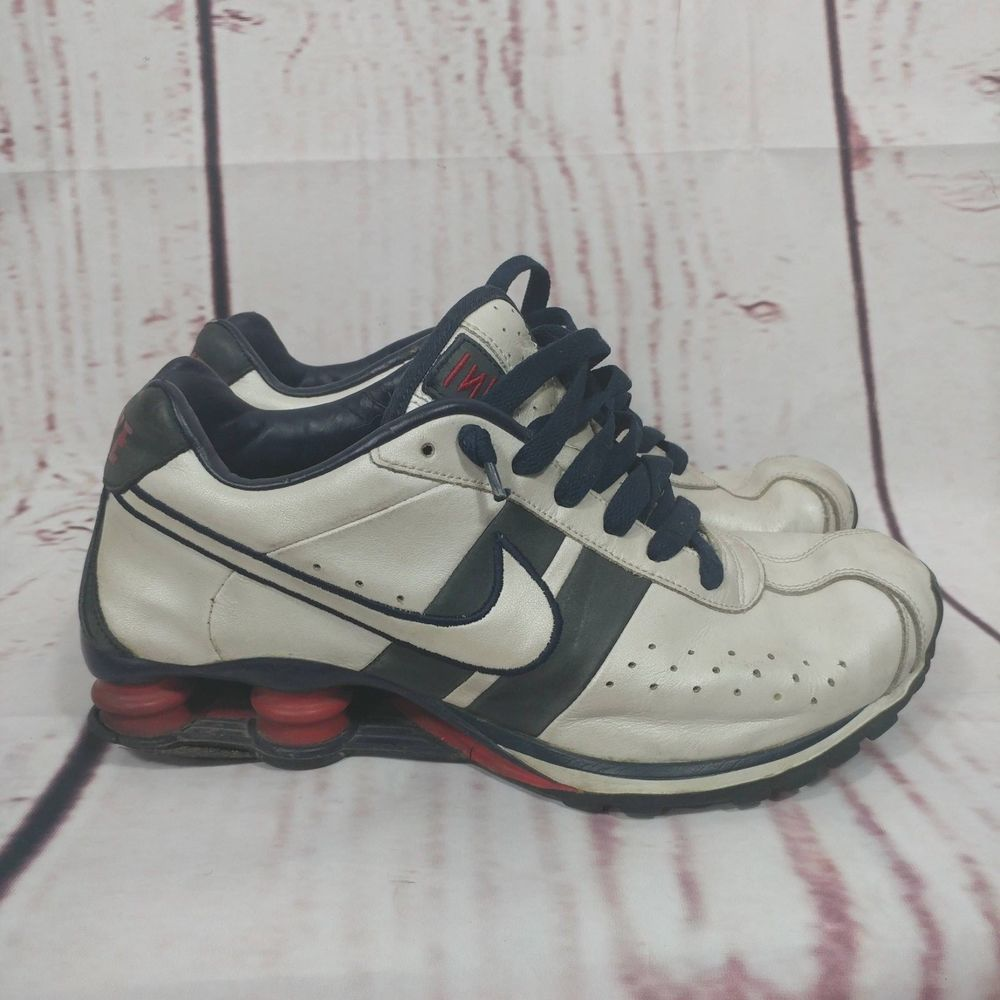 the latest eddac 173c4 2005 Nike Shox CL Men s Shoes 9.5 White Obsidian Blue Varsity Red  309354-112  fashion  clothing  shoes  accessories  mensshoes  athleticshoes  (ebay link)
