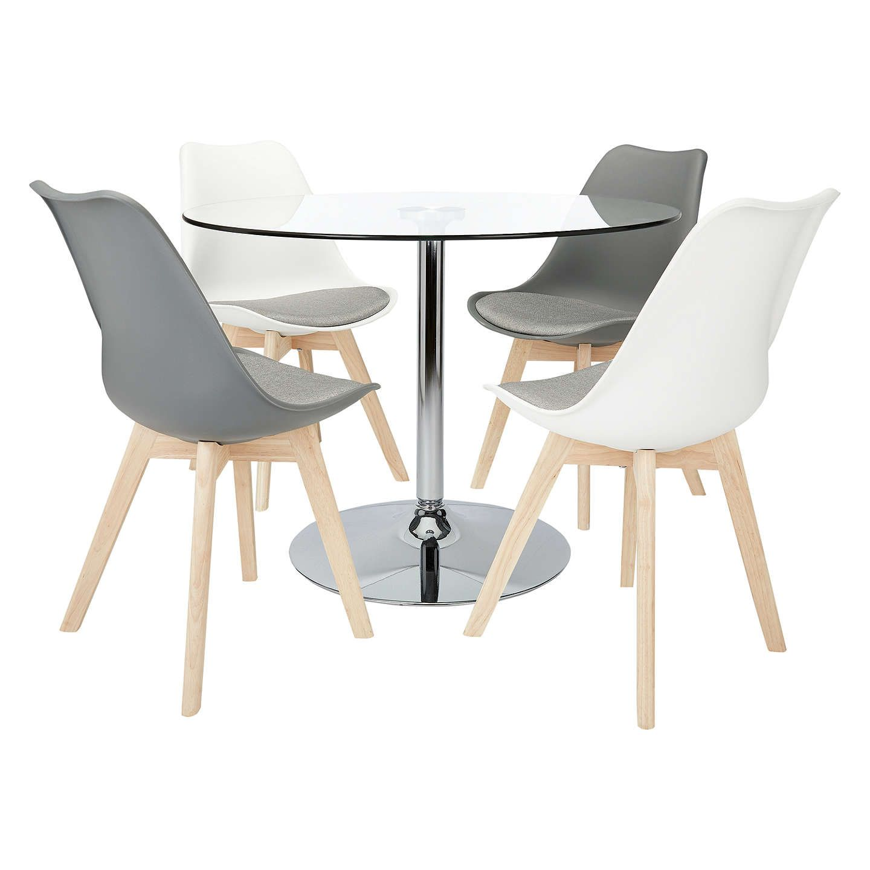247c5565a9b BuyJohn Lewis Nido 4 Seater Glass Top Bistro Table Online at johnlewis.com