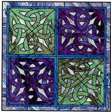 Celtic Quilt Patterns | Celtic/Scottish Quilts | Pinterest