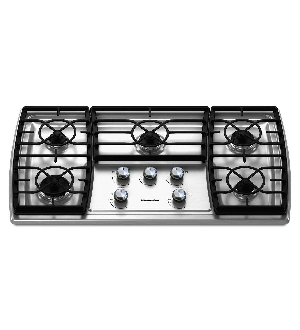 Marvelous Kitchenaid 36 Inch 5 Burner Gas Cooktop Architect Series Download Free Architecture Designs Xoliawazosbritishbridgeorg