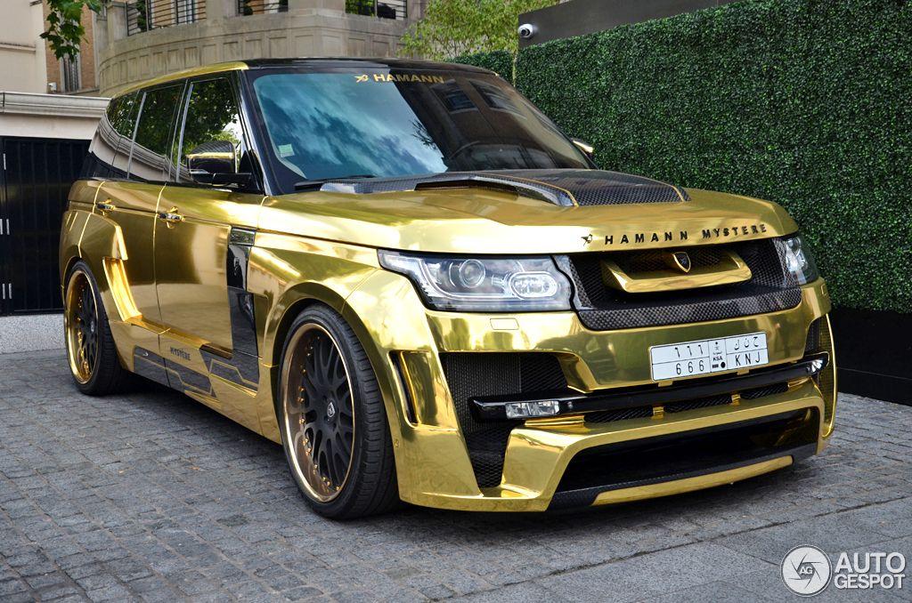 Attirant Gold Plated Range Rover Vogue Hamann Mystere Is Luxury On Wheels.