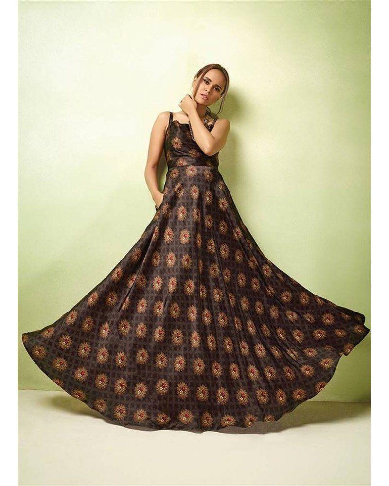 Karma Designer Clothes | Karma Tucute Vol 17 17001 Series Designer Long Gown 17007 Designer