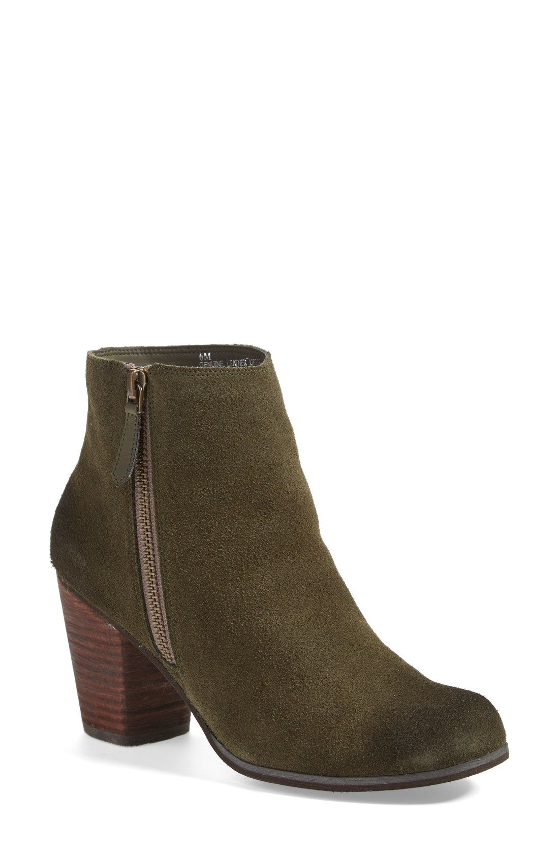 Can't resist this suede bootie!