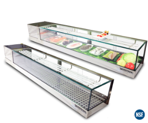 Products Yoshimasa Usa Inc Manufacturer Specializing In Sushi Display Cases Sushi Display Case Sushi Case Display Case