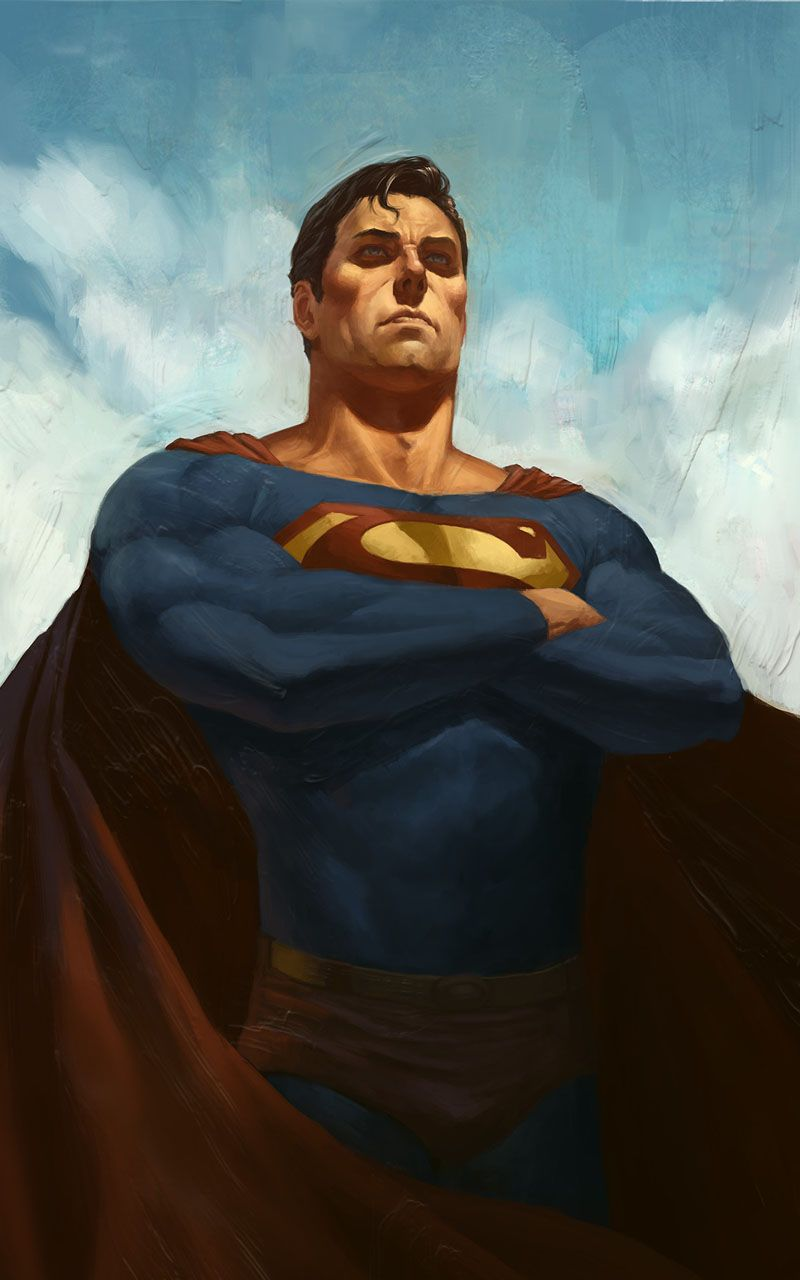 Superman Wallpaper 4k Superman artwork, Batman and