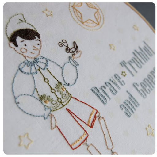 Real Live Boy Free Embroidery Pattern