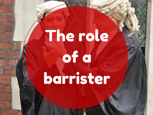 The role of a barrister