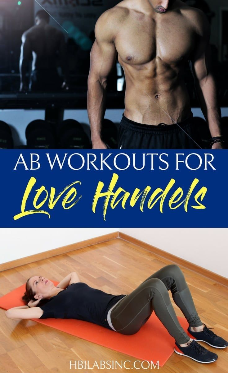 Ab workouts for love handles are some of the easiest workouts you can do and will give you the body...