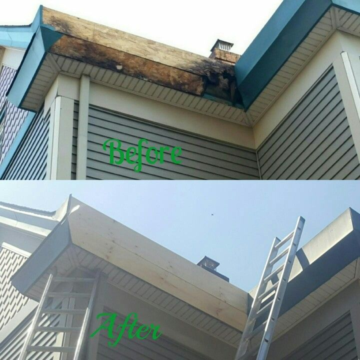 Yankee Gutter Fascia Wood Repair In Hawthorne Nj Yankeegutter