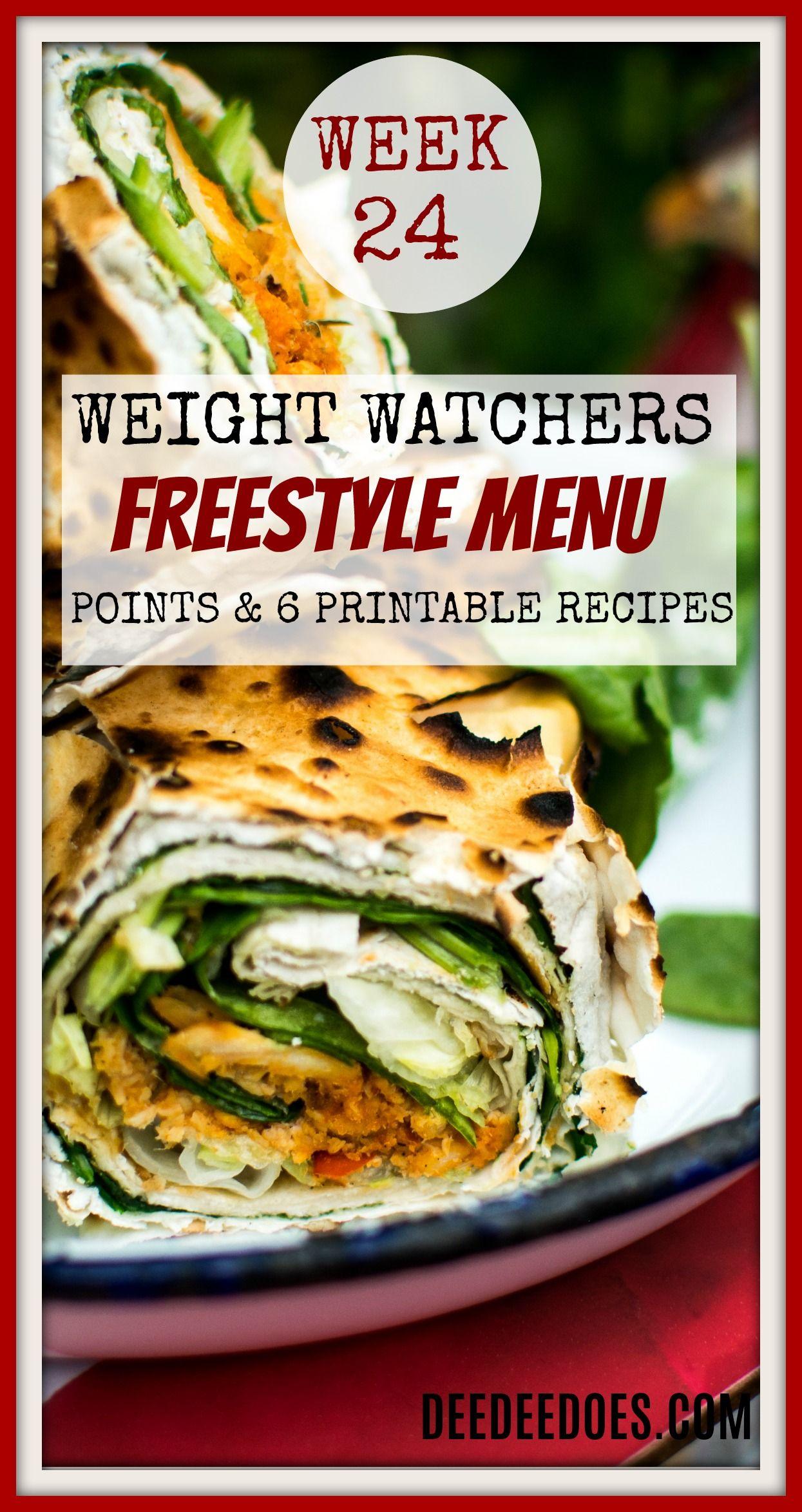 Weekly menu plan #29 recipe girl | weight watcher freestyle meal.