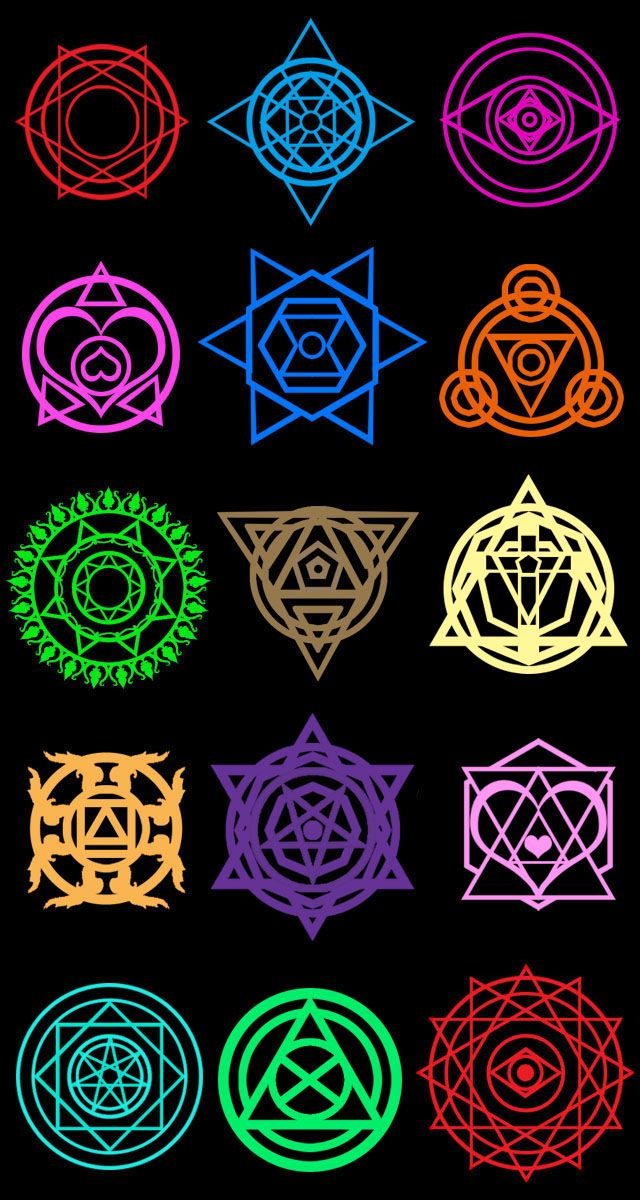 Summoner Saga Magic Circles By Moai666 On Deviantart Sacred