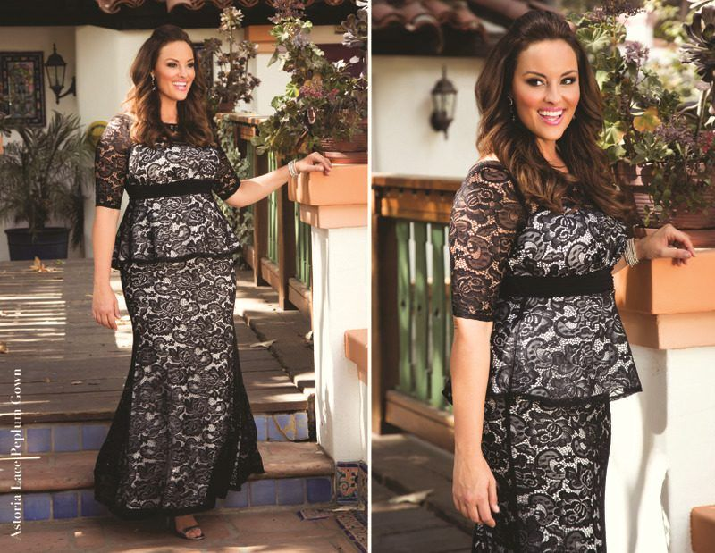 ae26a46b075 Looking for a few plus size holiday dress ideas  Take a peek at what Kiyonna