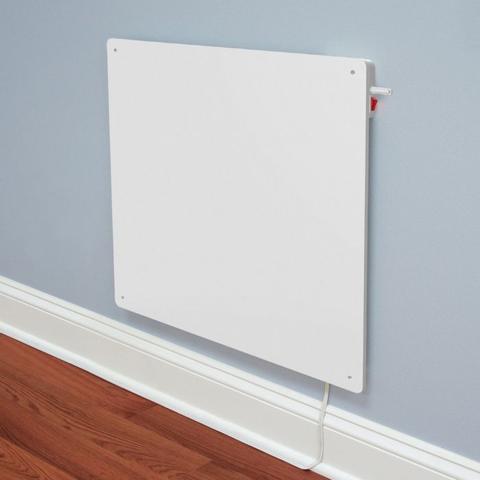 Wall Mounted Panel Heater With Built In Thermostat Energia Alternativa Energia Sustentable Domotica