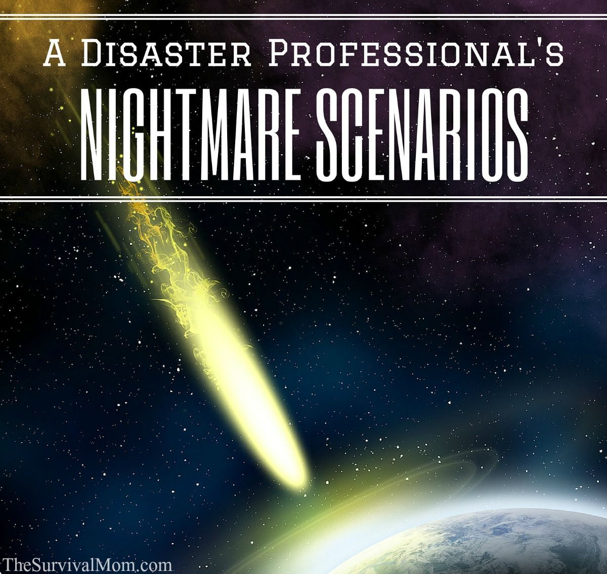 Survival Scenarios Worksheet
