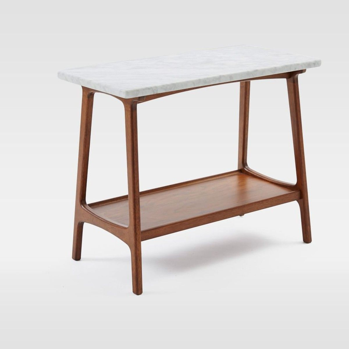 West Elm Reeve MidCentury Side Table Marble Currently Coveting - West elm reeve dining table